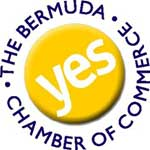 The logo of the Bermuda Chamber of Commerce
