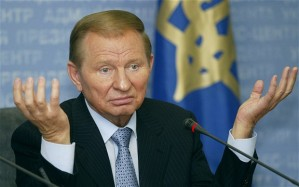 Former Ukrainian President Kuchma.  Photo by Reuters.
