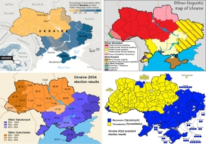 Four key maps of Ukraine.  From the Washington Post.