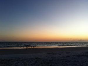 The Sun has set...