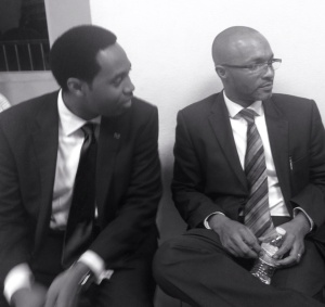New PLP Leader and Deputy Leader, October 2014.
